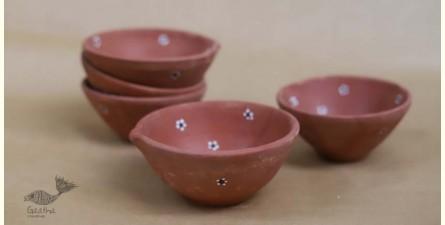 Maati Ka Kaam ● Diya -  Medium Diyas  { Set of Two } ● 13
