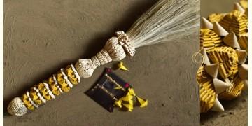 खजुरी  ☙ Date leaves Broom ☙ Wall Hanging ☙ 9