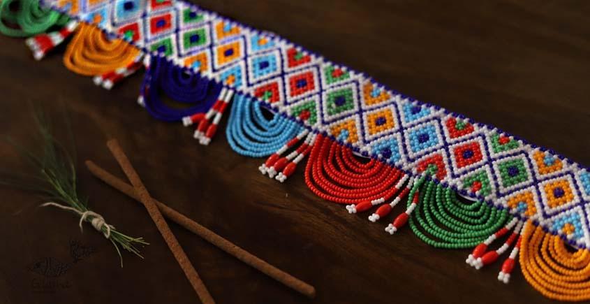 शुभ लाभ ⁂ Glass Bead ⁂ Temple Toran ( S ) ⁂ 25