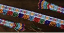 शुभ लाभ ⁂ Glass Bead  Temple ⁂ Toran ( Set of Three ) ⁂ 17