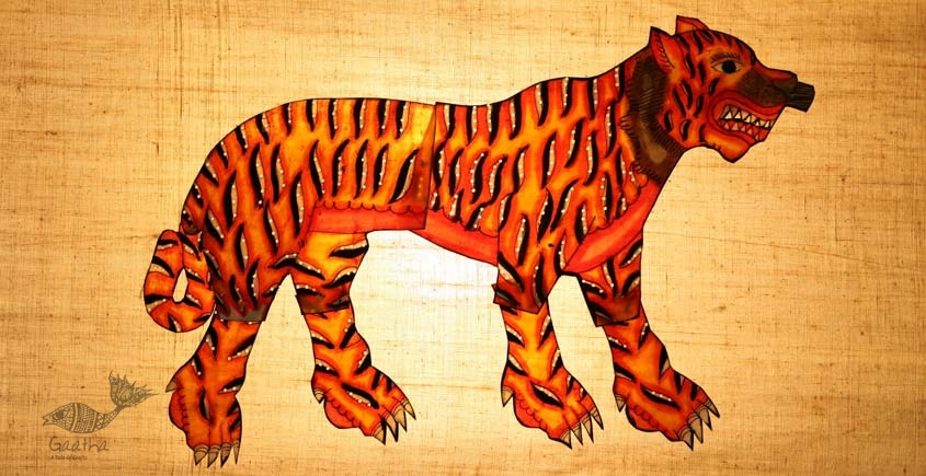 Leather Puppets ✡ Tiger ✡ 3