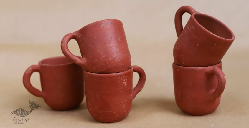 shop online Clay Cups ( Set of Five )