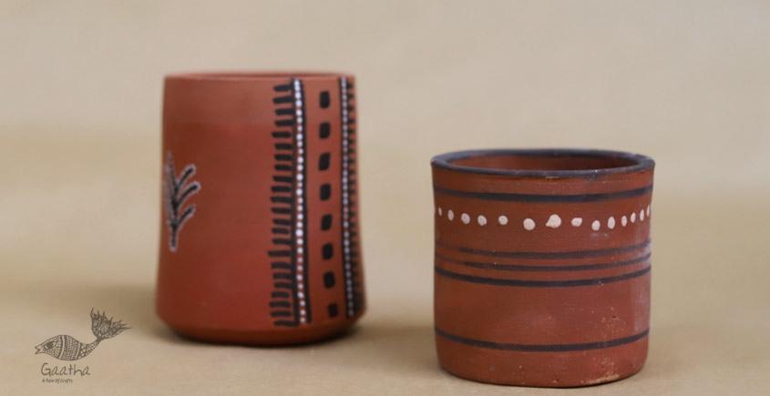 Maati Ka Kaam ● Clay Glasses ( Set of two ) ● 27