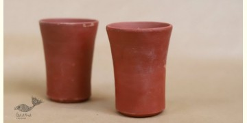Maati Ka Kaam ● Clay Glasses ( Set of two ) ● 29