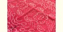 latest collection of cotton bandhni pink-white sarees