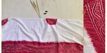 Malvika . मालविका ● Cotton Tie & Dyed Bandhani Saree ● 10