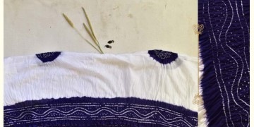 Malvika . मालविका ● Cotton Tie & Dyed Bandhani Saree ● 15