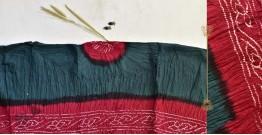 Malvika . मालविका ● Cotton Tie & Dyed Bandhani Saree ● 2