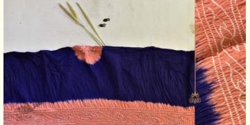Malvika . मालविका ● Cotton Tie & Dyed Bandhani Saree ● 5