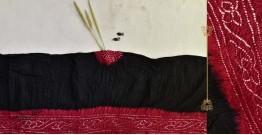 Malvika . मालविका ● Cotton Tie & Dyed Bandhani Saree ● 8