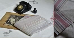Damodar . दामोदर ❇ Handloom Cotton Silk Dhoti-Khes Set ❇ 4