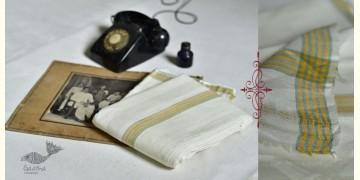 Damodar . दामोदर ❇ Handloom Matka Silk Dhoti-Khes Set ❇ 10