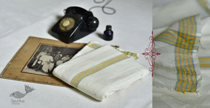shop online handloom pure cotton dhoti khes Malaysia