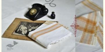 Damodar . दामोदर ❇ Handloom Matka Silk Dhoti-Khes Set ❇ 12