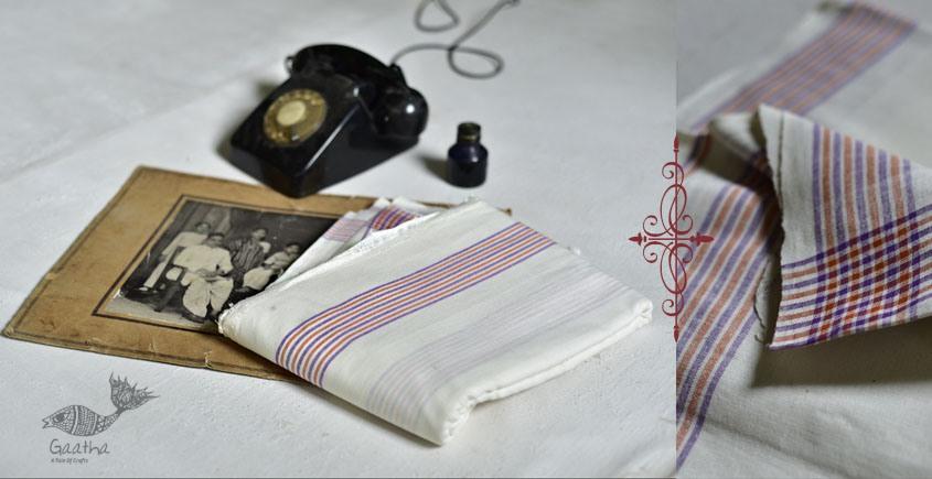 shop online handloom matkasilk dhoti khes - dhoti with border 8