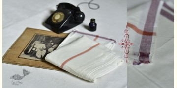 Damodar . दामोदर ❇ Handloom Matka Silk Dhoti-Khes Set ❇ 9