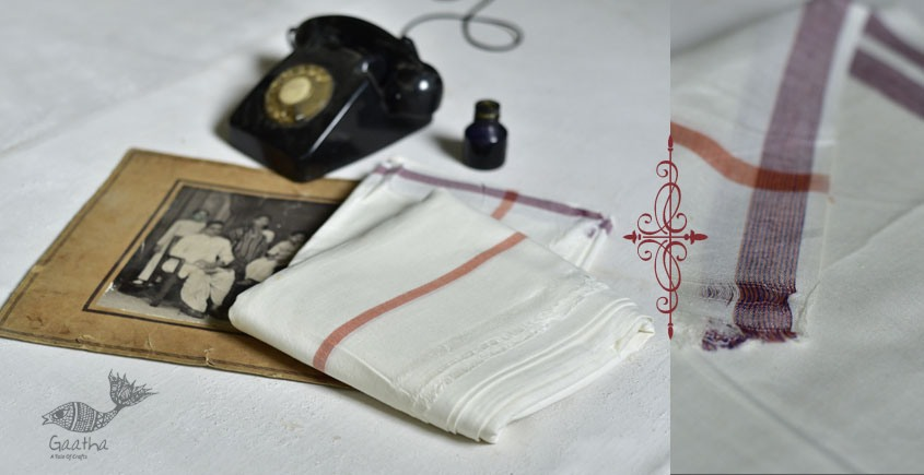 shop online handloom matkasilk dhoti khes - in Shrilanka handlloom cotton 9