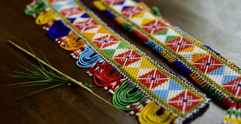 shop temple toran -made with glass beads