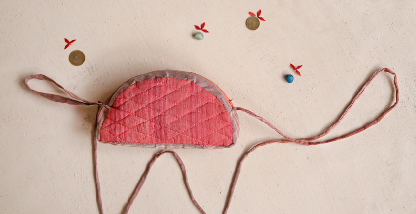 Getting carried away - Cotton Pouch - 11