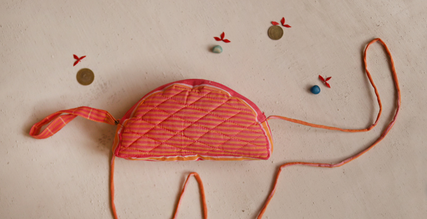 Getting carried away - Cotton Pouch - 15