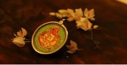 देवसेना * Miniature Painting . Pendant * Lamboder