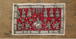 Sacred cloth of the Goddess- Bahu chara mata (26''X15'')