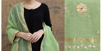 Meera ⚛ Chanderi Dupatta with Gota Patti Work ⚛ 15