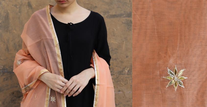 Meera ⚛ Chanderi Dupatta with Gota Patti Work ⚛ 17