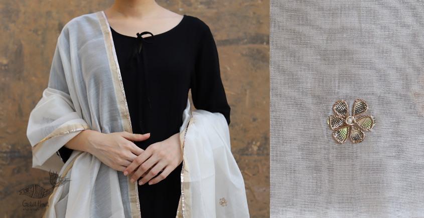 Meera ⚛ Chanderi Dupatta with Gota Patti Work ⚛ 5