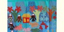 shop Hand Embroidery and Applique Work Wall Piece - Doll