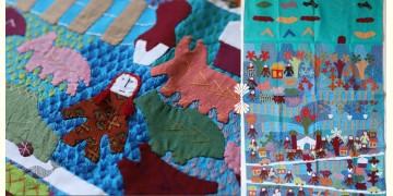 """Rural trails ⁂ Doll Wall Piece (29"""" x 45"""") ⁂ 3"""