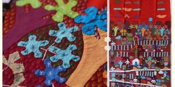 "Rural trails ⁂ Doll Wall Piece (29"" x 45"") ⁂ 3A"