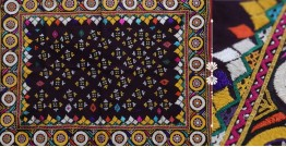 "Rural trails ⁂ Kutchi Embroidered Wall Piece ( 29"" x 38"" ) ⁂ 5"