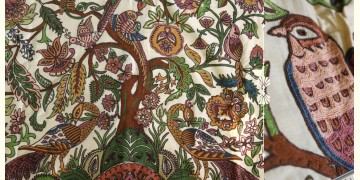 """Rural trails ⁂ Kutchi Embroidered Wall Piece ( 58"""" x 44"""" ) ⁂ 6"""
