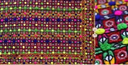 "Rural trails ⁂ Kutchi Embroidered Wall Piece ( 57"" x 46"" ) ⁂ 8"