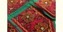 Rural trails ⁂ Kutchi Embroidered Toran ( 38 x 16 ) ⁂ 15