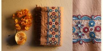 Aghan   अगहन ⁂ Aahir + Soi Embroidery ⁂ Merino Wool Shawl ⁂ 19