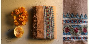 Aghan   अगहन ⁂ Aari Embroidered Merino Wool Shawl ⁂ 20