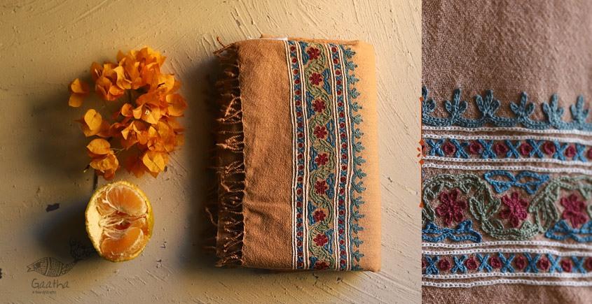 Aghan | अगहन ⁂ Aari Embroidered Merino Wool Shawl ⁂ 20