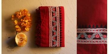 Aghan   अगहन ⁂ Aari Embroidered Merino Wool Shawl ⁂ 21