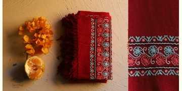Aghan   अगहन ⁂ Aari Embroidered Merino Wool Shawl ⁂ 23