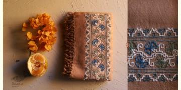 Aghan   अगहन ⁂ Aari Embroidered Merino Wool Shawl ⁂ 24