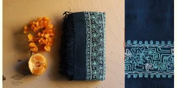 Aghan   अगहन ⁂ Aari Embroidered Merino Wool Shawl ⁂ 25