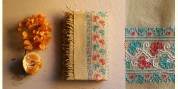 Aghan   अगहन ⁂ Aari Embroidered Merino Wool Shawl ⁂ 26