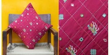 Cushioned Living ❦ Bavaliyo Embroidery ❦ Cushion Cover - 11