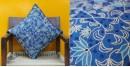 Cushioned Living ❦ Aari Embroidery ❦ Cushion Cover - 12