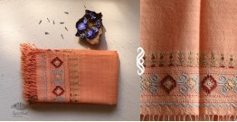 Aghan | अगहन ⁂ Kharek Embroidery ⁂ Merino Wool Stole ⁂ 10