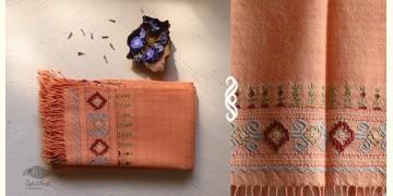 अगहन ⁂ Kharek Embroidery ⁂ Merino Wool Stole ⁂ 10