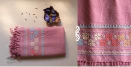 Aghan | अगहन ⁂ Bavaliyo Embroidery ⁂ Merino Wool Stole ⁂ 12