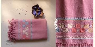 अगहन ⁂ Bavaliyo Embroidery ⁂ Merino Wool Stole ⁂ 12